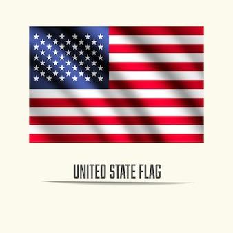 Estados Unidos do projeto da bandeira