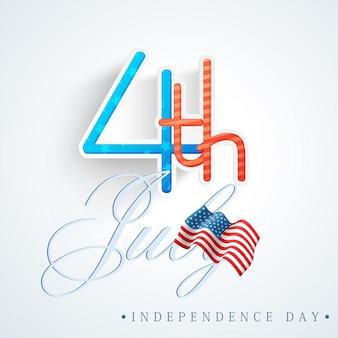 Estados unidos glória azul dia dos EUA