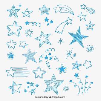 Estrelas esboçado