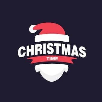 Etiqueta do tempo do Natal