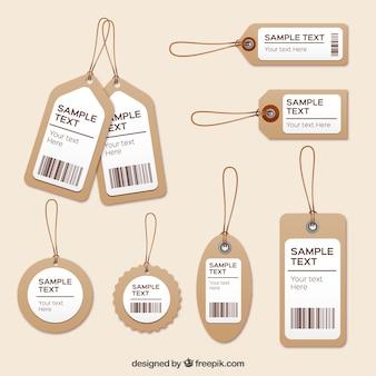 Etiquetas de roupas