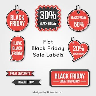 Etiquetas pretas venda sexta-feira