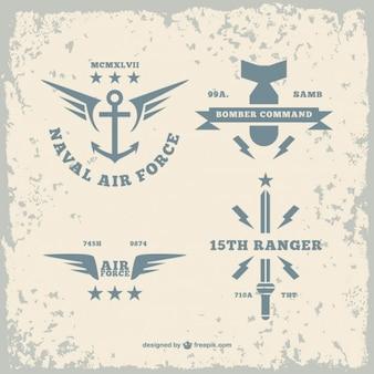 Exército pacote de logos