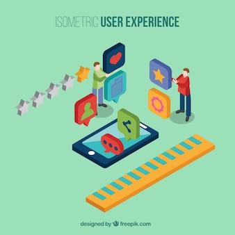Experiência de usuário móvel