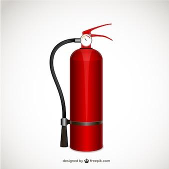 Extintor de incêndio ilustração