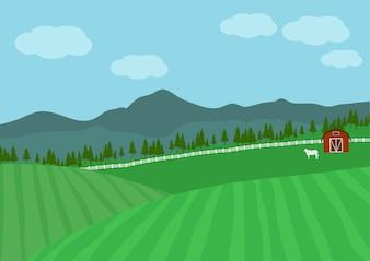 Fazenda rural