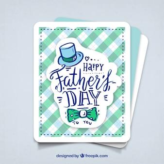 Feliz cartão do dia do pai