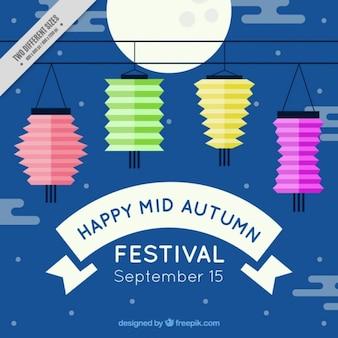 Feliz festival de meio de outono