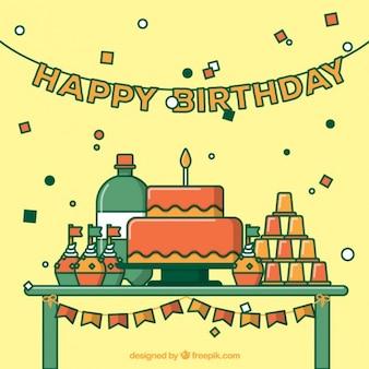 Festa de aniversário bonito