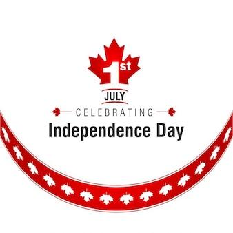 Folha de bordo Fundo do teste padrão 01 de julho Dia do Canadá