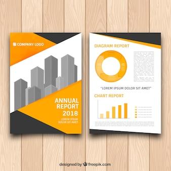 Folheto Grometric com gráficos