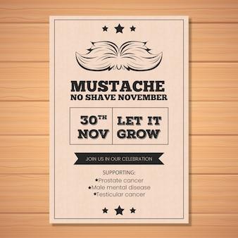 Folheto Movember