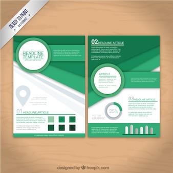 Formas geométricas panfleto
