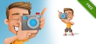 Fotógrafo personagem