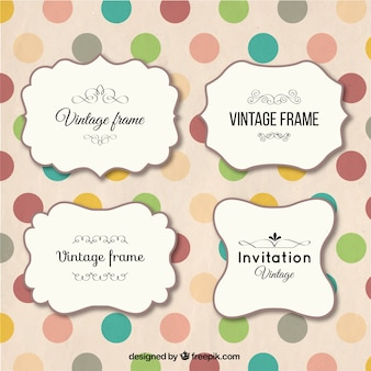 Frames do vintage embalar