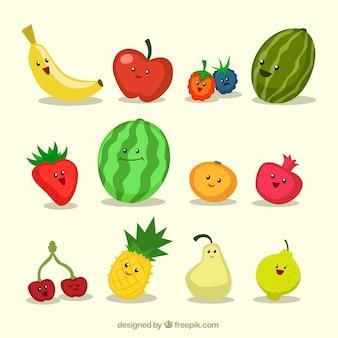 Frutas engraçadas