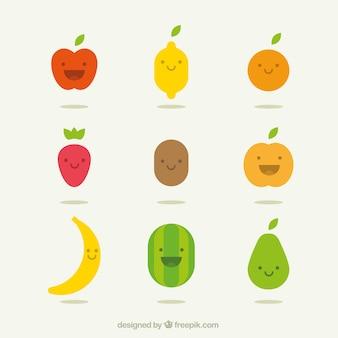 Frutas felizes