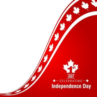 Fundo 01 de julho Dia feliz de Canadá
