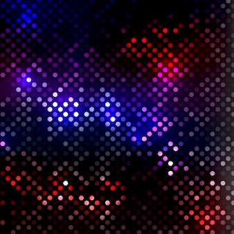 Fundo abstrato com design de luzes de discoteca