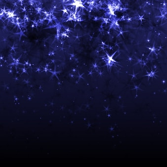 Fundo abstrato com estrelas
