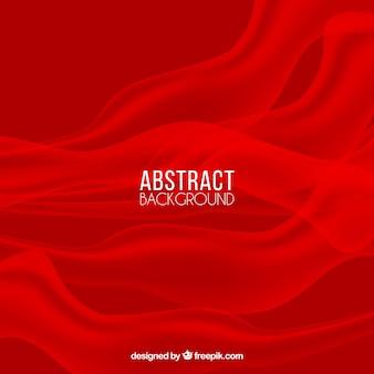 Fundo abstrato com fumaça vermelha