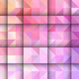 Fundo abstrato com um design geométrico