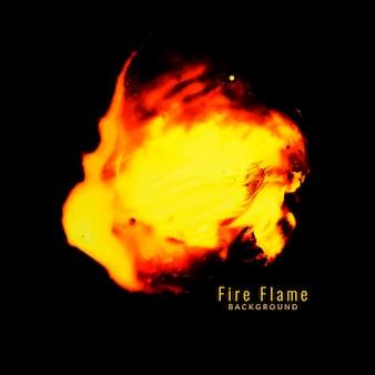 Fundo abstrato da chama do fogo