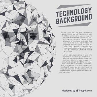 Fundo abstrato da tecnologia bola
