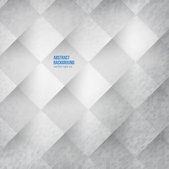Fundo abstrato do vetor. Quadrados brancos