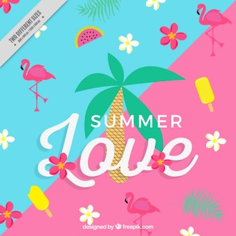 Fundo alegre do verão