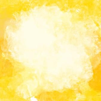 Fundo amarelo da aguarela