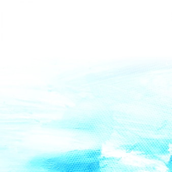 Fundo azul abstrato da aguarela