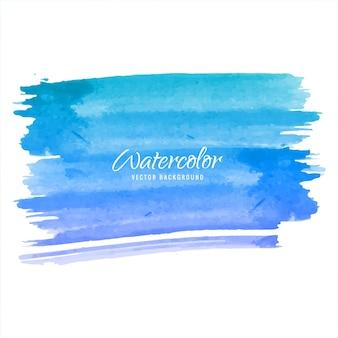 Fundo azul aquarela azul