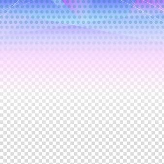 Fundo azul com esquema transparente