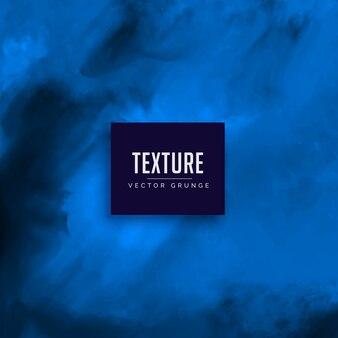Fundo azul do vetor da textura da aguarela
