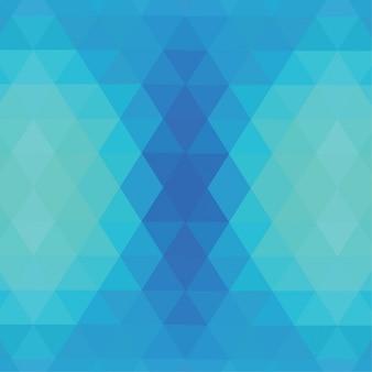 fundo azul poligonal