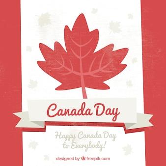 Fundo bonito do dia de Canadá