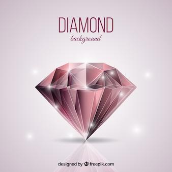 Fundo brilhante de diamante