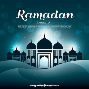 Fundo brilhante do Ramadã