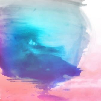 Fundo colorido abstrato da aguarela