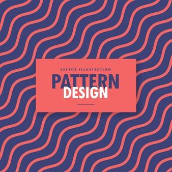 Fundo colorido minimalista com linhas onduladas