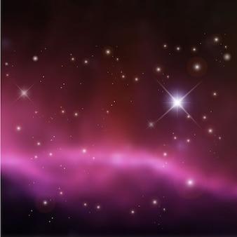 Fundo colorido universo