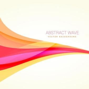 Fundo com ondas abstratas