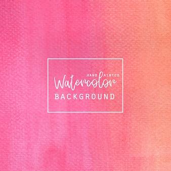 Fundo cor-de-rosa da aguarela do inclinação
