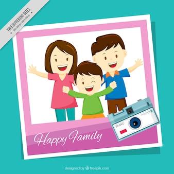 Fundo da foto de família