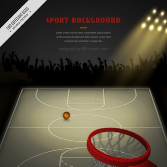 Fundo da matemática de basquete