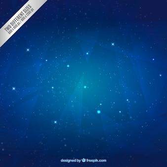 Fundo da noite estrelado