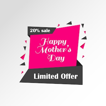 Fundo da venda do dia de mãe