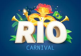 Fundo de Carnaval do Brasil