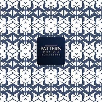 Fundo de design de padrão geométrico moderno